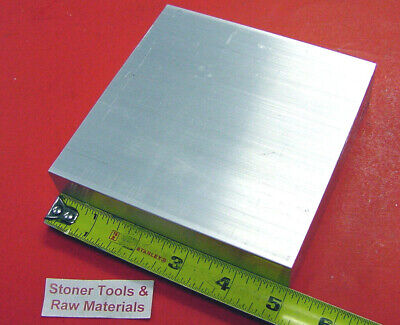 "1-1/4"" X 5"" ALUMINUM 6061 T6511 SOLID FLAT BAR 5"" long 1.25"" Plate Mill Stock"
