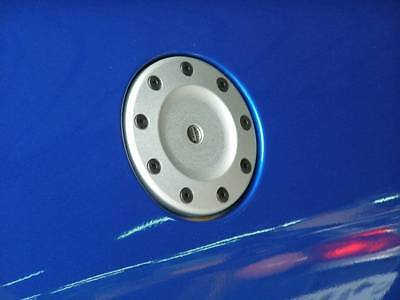Chrome Replacement Tank Gas Fuel Cap Cover for Peugeot 206