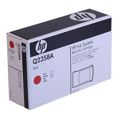 HP Q2358A RED Ink 350ml new oem HP
