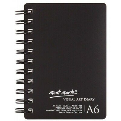 Mont Marte Visual Art Diary A6 120page