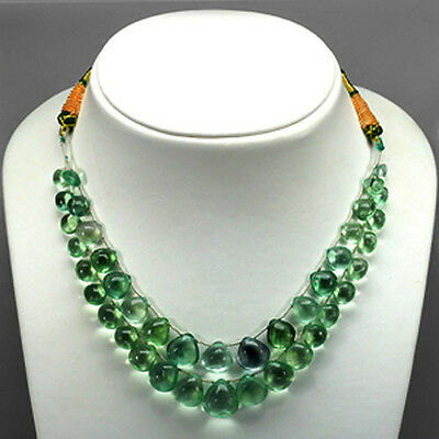 AWSOME 267.30 Ct  ADJUSTABLE FLOURITE NECKLACE SEE VIDEO