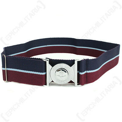 British Royal Air Force STABLE BELT with Buckle - All Sizes Modern RAF Uniform