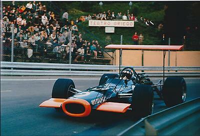 Jackie OLIVER SIGNED LOTUS Cosworth 12x8 Photo AFTAL Autograph COA