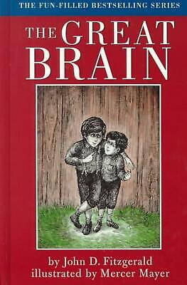 The Great Brain by John D. Fitzgerald (English) Hardcover Book Free Shipping!