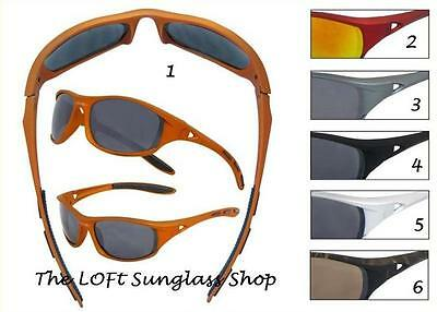 Boys Sporty Wrap Style Sturdy Just Like Dad Sunglasses Boating Fishing KL05