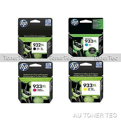 HP Genuine 932XL/933XL Set of 4x Ink Cartridge CN053AA-CN056AA 1000/400 pages