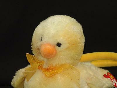 NEW TY BEANIE BABY YELLOW EASTER COOL CHICK 2005 PLUSH STUFFED ANIMAL PURSE BAG