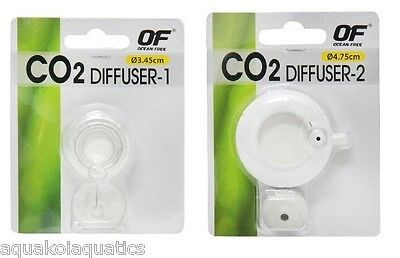 Ocean Free Co2 Ceramic Diffuser Aquarium Fish Tank Plant Air Planted Solution