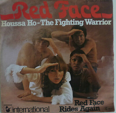 """7"""" 1976! RED FACE Houssa Ho The Fighting Warrior MINT-?"""