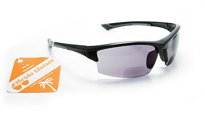 NWT$32.99 Bifocal Reader Sunglasses Sports Reading Glasses + 1.50 2.00 2.50 3.00