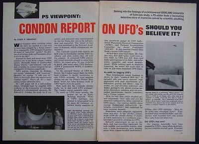 UFOs Condon Report *Should You Believe It* 1969 article