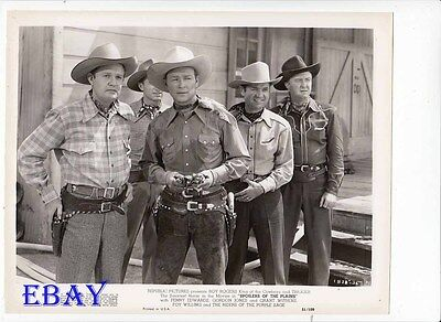 Roy Rogers Spoilers Of The Range VINTAGE Photo