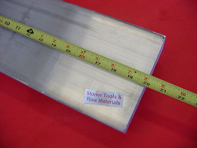 "1/2"" X 6"" ALUMINUM 6061 FLAT BAR 20"" long T6511 SOLID PLATE Mill Stock .50""x 6.0"