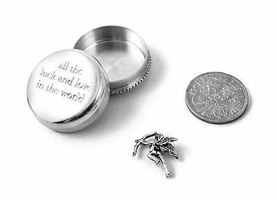 Sterling Silver All The Love & Luck In The World - Tales From The Earth-Gift Box