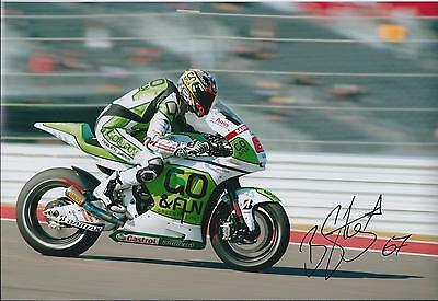 Bryan STARING SIGNED Autograph GO&FUN MotoGP 12x8 Photo AFTAL COA Silverstone