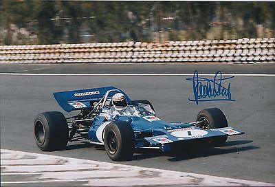 Jackie STEWART SIGNED Autograph RACING TEAM World Champion Photo AFTAL COA