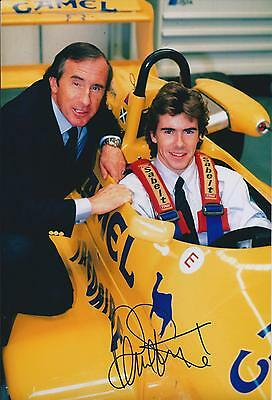 Paul STEWART SIGNED Autograph RACING Driver Photo with Jackie AFTAL COA