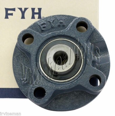 "FYH UCFC209-27 1 11/16"" Round Flanged Bearing Mounted Bearings 11450"