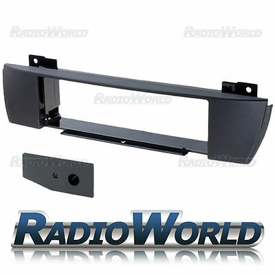 BMW X3 e83 Fascia Surround Trim Panel Adapter Single Din Black Flush Fit