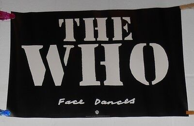 The Who Face Dances Promo 1981 Original Poster 16x24