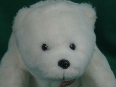 Whataburger Always Coca-Cola White Polar Bear Cub Plush Stuffed Animal Toy