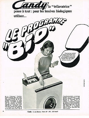 Other Breweriana Publicité Advertising 1969 Uginox Acier Inoxydable Machine à Laver Collectibles M