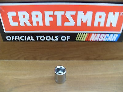 "New Craftsman 3/8"" 6 Pt Point Sae Or Metric Shallow Socket Tools Choose Size"