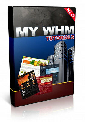 Web Host Manager Video Tutorials on 1 CD