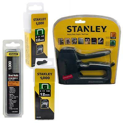 Stanley Stapler & Nail Gun Complete with 2000 Staples and 1000 Brads 0-TR250