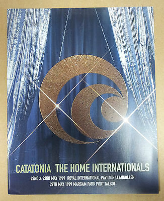 Catatonia The Home Internationals 1999 programme wales tour