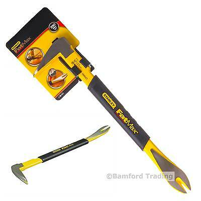 Stanley 1-55-511 Fatmax Pry Claw Bar Skirting Nail Remover Removal Tool Steel