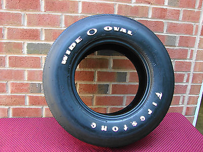 69 70 Camaro  Chevelle Mustang Original F70-14 Firestone Wide Oval Tire