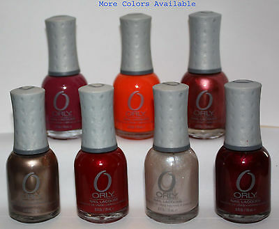 ORLY Nail Polish Lacquer .6 oz #2 several colors available **