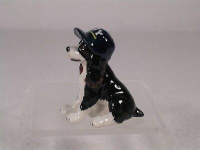 Northern Rose Miniature Porcelain Spaniel 'Puppy-Navy Hat' Figurine  #R222A  NEW