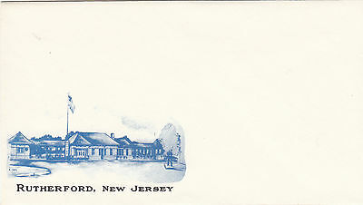 (21706) Rutherford, New Jersey branded envelope unused