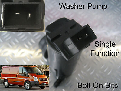 Front Windscreen Washer Pump Fits Ford Transit 2006 through to 2012