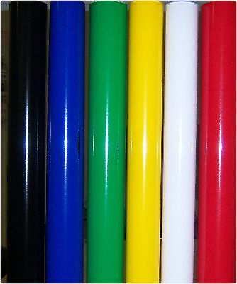 "6 SELF-Adhesive Vinyl Rolls for vinyl cutter PLOTTER 9 feet each 24"" width"