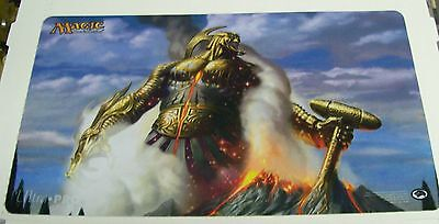 Ultra Pro Magic MTG Theros Playmat Purphoros God of the Forge v4 Free Shipping