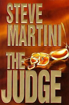 THE JUDGE a novel by Steve Martini ~ hardcover dustjacket