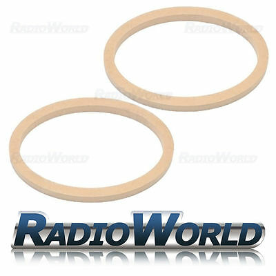 "6x9"" 6 x 9 MDF Speaker Adapter Spacer Mounting Rings 18mm Thick Oval Pair"