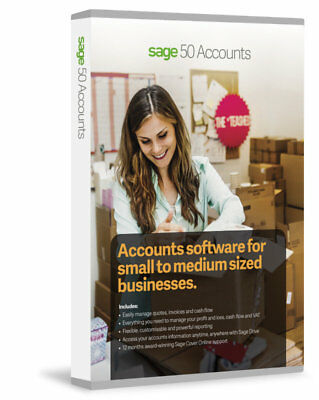 Sage 50 Accounts 2017 from Top Sage Supplier in the UK