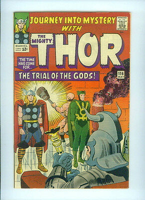 JOURNEY INTO MYSTERY (1965) 116  STAN LEE JACK KIRBY THE MIGHTY THOR