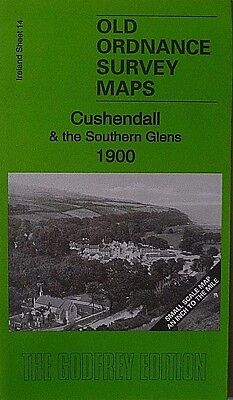 Old Ordnance Survey Maps Cushenddall & the Southern Glens 1900 S14 Brand New
