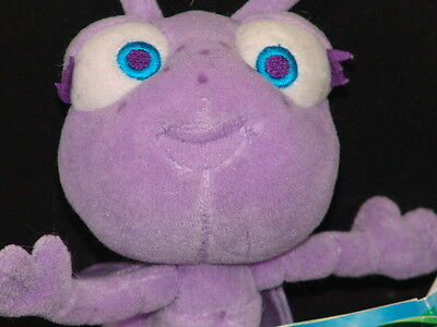 NEW DISNEY PIXAR A BUGS LIFE BABY ANT PRINCESS DOT MOVIE PlushSTUFFED ANIMAL TOY