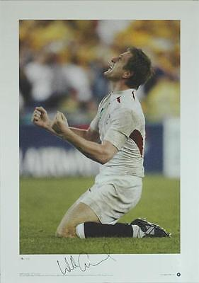 Will Greenwood Signed 2003 Rugby World Cup Print - AFTAL RD