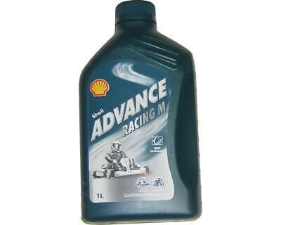 Shell Advance Racing M 2 Stroke Oil 1L x 12 Rotax Max Iame X30 TKM UK KART STORE