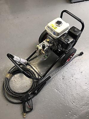 Honda engined GP200  petrol pressure washer  brand new machine