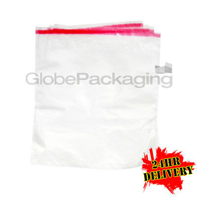 """500 C4 CLEAR Poly Mailing Bags Self Seal 9x12"""" A4 SIZE"""