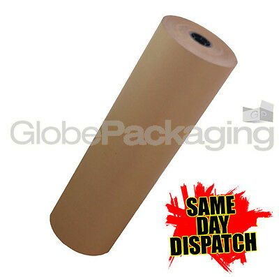 500mm x 20M STRONG BROWN KRAFT WRAPPING PAPER 20 METRES