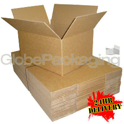 "100 x 17x10x5"" CARDBOARD POSTAL PACKING CARTONS BOXES"